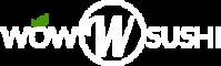Logo with Name - White