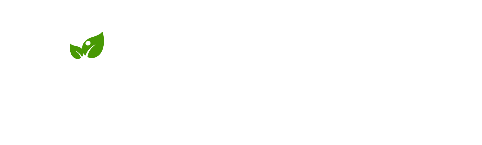 Logo with Name - White - 2000x602